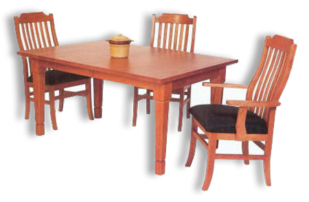 Picture of Belvidere Table and Morgan Chairs