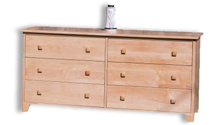Picture of Mission Six Drawer Dresser