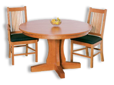 Picture of New Traditions Pedestal Table