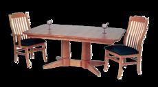 Picture of Peacham 2 Pedestal Table