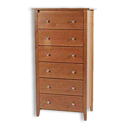 Picture of Shaker Post Cherry Lingerie Chest