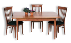 Picture of Shaker Taper Leg Table