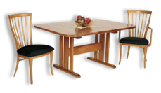 Picture of Three Leg Trestle Table