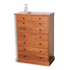 Picture of Vermont Tradition 7/8  Drawer Chest