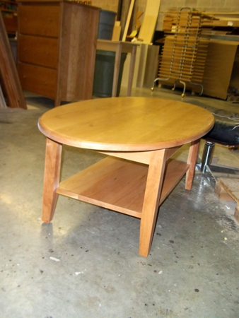 Oval Coffee Table With Shelf.Cherrystone Furniture Custom Oval Coffee Table With Shelf