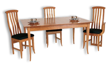 Picture of Flare Leg Dining Table