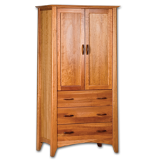 Picture of Willow Cherry Armoire