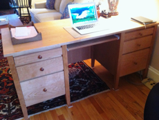 Picture of Custom Executive Cherry  Desk