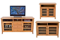Picture of Shaker entertainment center
