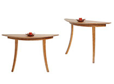 Picture of  Two Leg Demilune Table