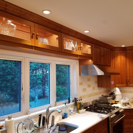 Picture of Cherry Custom kitchen