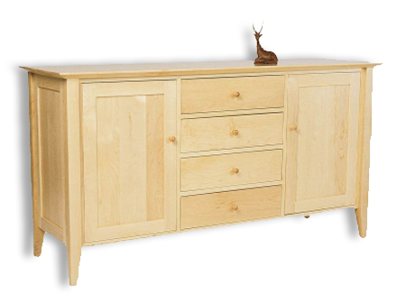 Picture of Four  Drawer  Shaker Buffet