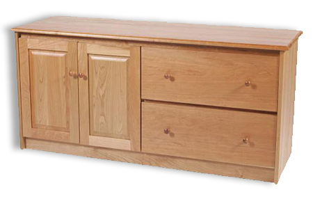 Picture of Shaker Cherry Credenza w/2 Drawer, 2 Raised panel Doors