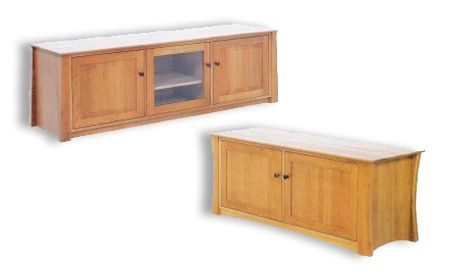 """Picture of Cherry Duxbury TV Stand 55"""" Wide"""