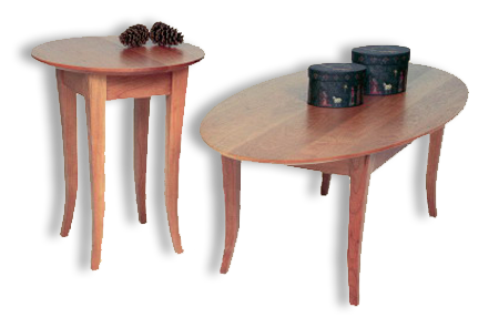 Picture of Flare Oval Coffee Table