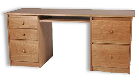 Picture of Shaker Double Pedestal Desk