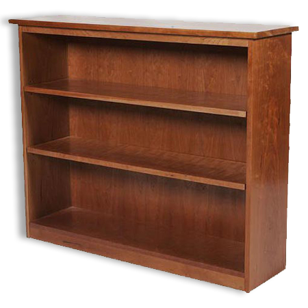 "Picture of Shaker Cherry 42"" Bookcase"