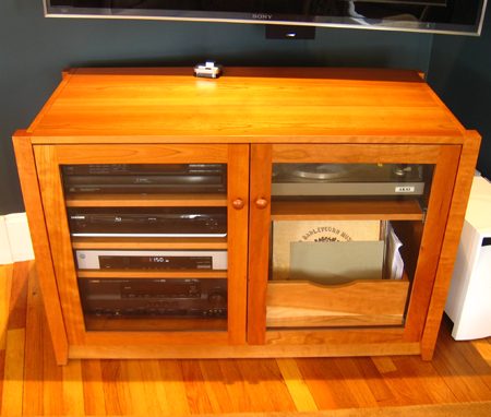 Picture of Custom Media Cabinet