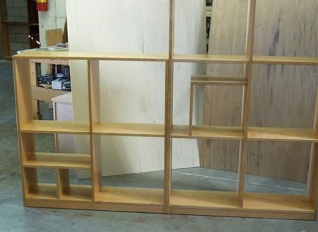 Picture of Custom Multi-Compartment Bookcase