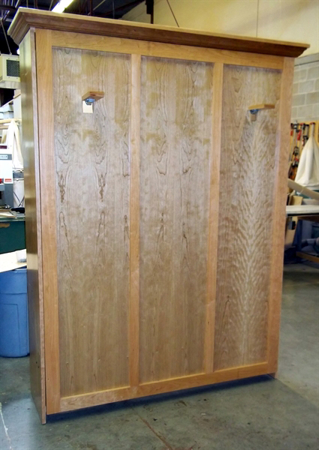 Picture of Murphy Bed Cherry custom