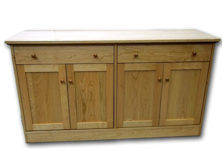 Picture of Custom Shaker  Buffet w/closed base