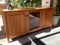 Picture of Cherry Shaker Entertainment Cabinet