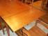 Picture of Rectangle Tapered Leg End Extension Drawleaf Table