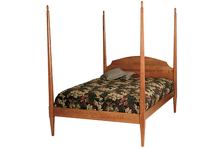 Cherrystone Furniture Pencil Post Bed