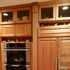 Picture of Custom Kitchen Cabinets with fluting and Rosets