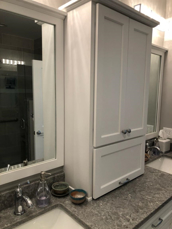 Picture of Custom Bath Cabinets