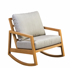 Picture of Tiffany Rocker With Arms with upholstered seat and back