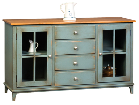 Picture of Shaker Credenza  cabinet .