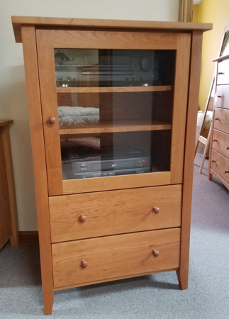Picture of Shaker Stereo Cabinet