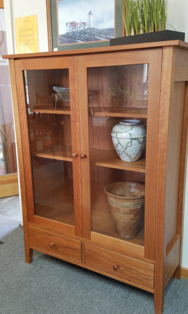 Picture of Cherry Readers Cabinet