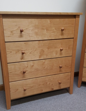 Picture of Shaker Post Four Drawer Chest (Shp9400)