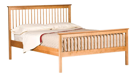 Picture of Shaker style Spindle Bed Queen Size