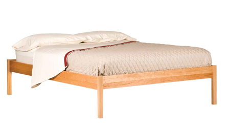 Picture of Solid Cherry Basic Bed Twin Size