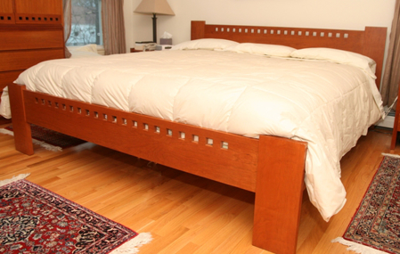 Picture of Charles Webb Bed Custom