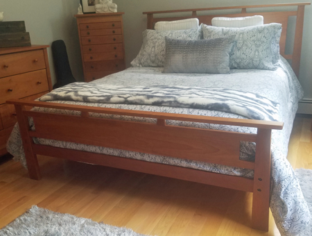 Picture of Copy of Ashley Custom Bed Queen Size