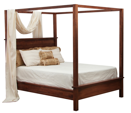 Picture of Brunswick Canopy bed Queen Size