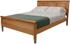 Picture of Carriage Raised panel Bed
