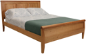 Picture of Carriage Raised panel Bed Twin Size