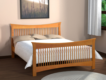 Picture of Copy of Granby Bed Queen Size