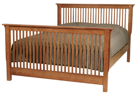 Picture of Vermont Mission Bed Queen Size