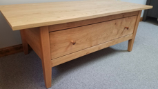 """Picture of Shaker Coffee Table 48"""" W x 24"""" D x 18"""" H"""