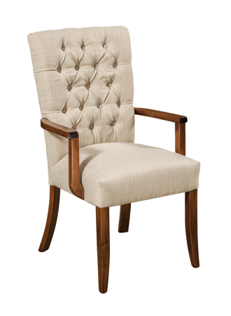 Picture of Alana Upholstered Arm Chair