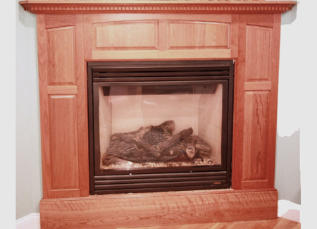 Picture of Fireplace Mantel Custom