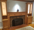 Picture of Fireplace Mantel Custom with side cabinets
