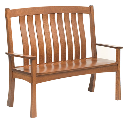 Picture of Modesto Bench with Arms