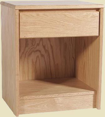 Picture of Contemporary Oak Small Nightstand